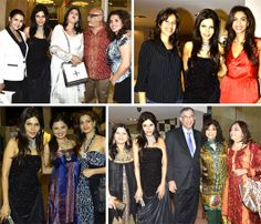 'It is better to be beautiful than to be good, but it is better to be good than to be ugly' - Oscar Wilde.  All evening Mumbai's most beautiful and fabulous people thronged the Maixon and enjoyed the cutting edge design and celebrated with panache.