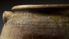 David Drake: Poet, Potter, Slave | Art & Object Pottery Pots, Ceramic Pottery, Museum Of Fine Arts, Art Museum, American Wings, Philadelphia Museum Of Art, Jar Storage, American Crafts, Art Object
