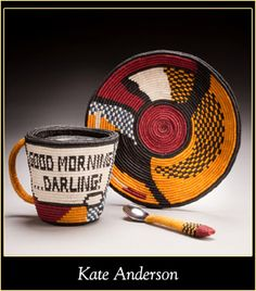 Lichtenstein Cup Darling made in Macrame