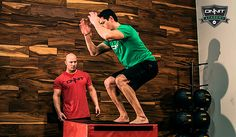 The box jump is a great way to teach people how to jump and land. Joe Defranco is going to go over the proper box jump technique today.