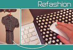 DIY Fabric Mousepad Refashion