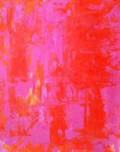 RED AND PINK | CAROLYNN TICE. BTW... visit: http://artcaffeine.imobileappsys.com/
