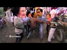 Prabowo, Jokowi, Mega, Hatta, Roma, JK, Ical Dan Amin rais semua bergoya...