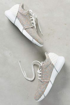 Elena Iachi Calu Shimmered Sneakers - #anthroregistry