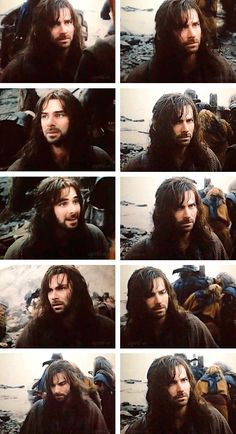 Kili in The Battle of the five Armies. That third one down on the left... :') :'(