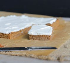 Pumpkin Bars - To make low carb replace the maple syrup or honey with your favorite sugar free sweetener. I would use Nature's Hollow Sugar Free Honey Substitute or Maple Grove Farms Sugar Free Maple Flavor Syrup
