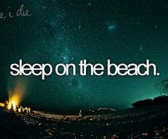 I would LOVE to do this at night as a romantic thing. Only time I ever fell asleep in public was on a beach in the middle if the day on a hot summer day because I had heat stroke lol. Not going to count this as done quite yet.