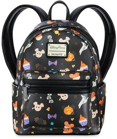 Mickey Mouse Halloween Mini Backpack by Loungefly Disney Halloween, Disney's Halloween Treat, Mickey Mouse Halloween, Disney Mickey Mouse, Halloween Celebration, Halloween Bags, Mickey Head, Mini Backpack, Backpack Bags