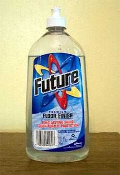 """use """"Future"""" floor finish to finish resin pieces"""