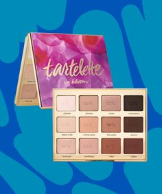 Tarte In Bloom Palette Review | Refinery29 reviews Tarte's In Bloom palette. #refinery29 http://www.refinery29.com/tarte-in-bloom-palette-review
