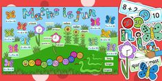 Ready Made Maths is Fun Display Pack