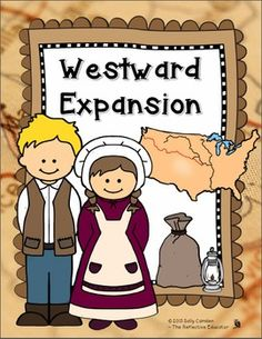 "Westward Expansion  ""Westward Expansion"" is a Social Studies lesson that focuses on understanding the motivation of pioneers to travel west, the role Missouri played as a ""jumping off place"" before the journey, and the hardships pioneers endured while traveling to the West."