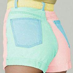 Pastel short