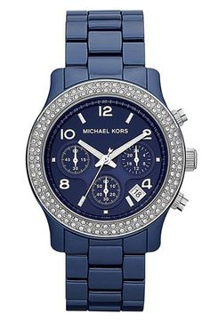 Michael Kors 'Runway Ceramic' Watch available at Nordstrom. Need it. Want it. Maybe a treat for myself after the MCAT? I think yes.