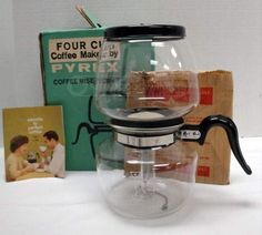 Cool Vintage Pyrex Coffee Maker