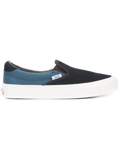 VANS tonal slip-on sneakers. #vans #shoes #sneakers