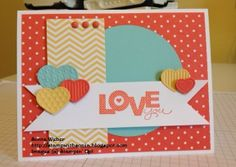 Stampin' Up! Seasonal Sayings, Valentine Card