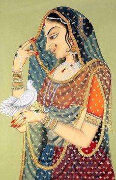 Beautiful-and-Interesting-indian-paintings-6.jpg (600×927)