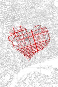 105 postales de San Valentín para arquitectos (y amantes de la arquitectura),Yulia Bogdan