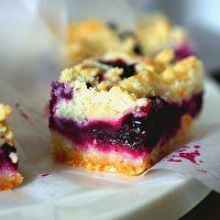Blueberry Crumb Bars by Smitten Kitchen