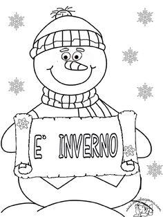 Disegno pandoro disegni da colorare e stampare gratis for Maestra gemma schede inverno