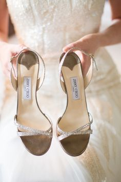 By Jimmy Choo #wedding #shoes #chaussures de #mariee #weddingshoes #chaussuredemariee