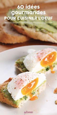 L'oeuf constitue un aliment très vertueux du point de vue nutritionnel. Comment en faire un allié super gourmand dans l'assiette ? Nos meilleures idées recettes aux oeufs sont là ! /// #aufeminin #recettes #recettealoeuf #oeuf #oeufs #proteines
