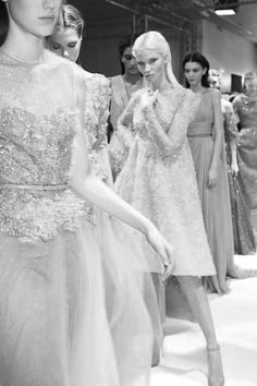 stella-and-coco.tumblr  Elie Saab Haute Couture S/S 2014 backstage.
