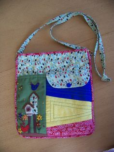 One of the bags from Lynette Anderson's designs.