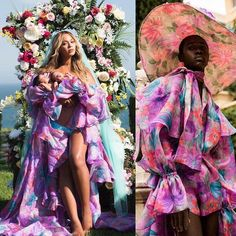 """VOGUE: Beyoncé's Post-Pregnancy Dress Is By the Men's Wear Designer @palomospain --------------------------------- Beyoncé, it turns out, placed a personal order for the dress after being sent loaner samples. Palomo and his team took her measurements, tailored the piece, and sent it back. But then she got pregnant. """"We thought, OK, she won't wear it, oh well,"""" he said.  But no. Not only did she wear it, she wore it for the world. As of 7:46 a.m. this morning, the image had been liked by…"""