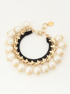 Lily Brown チェーンパールブレスレット / Chain & Pearl Bracelet on ShopStyle