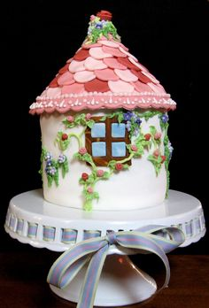 fairytale cake - cake for a little girls birthday