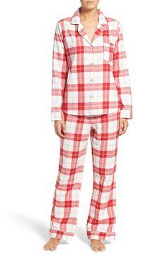 UGG® UGG®  Raven  Plaid Cotton Pajamas available at  Nordstrom Cute Pajamas 8316029c0