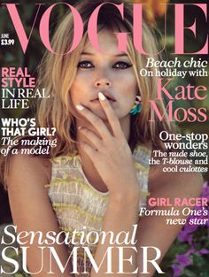 It's safe to say that when you land a British Vogue cover with Kate Moss you've officially made it. Christopher Kane's moment came when the supermodel wore a dress from his SS13 collection on the cover of the June 2013 issue. Kane's collection might have been inspired by horror movies, (Frankenstein, Pyscho – the list goes on), but worn by a sun-kissed Miss Moss in the idyllic setting of St Barts, his electrified organza dress recalls an era of bygone Hollywood glamour.