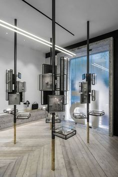 Jewerly Store Interior Design Glass Boxes Ideas For 2019 Design Shop, Shop Interior Design, Retail Design, Color Interior, Exterior Design, Design Design, Store Concept, Jewellery Shop Design, Jewellery Boxes