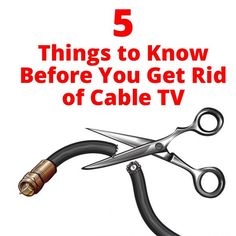 Thinking about getting rid of cable? Here are 5 things to know before you cut the cord.