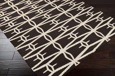 Surya Jill Rosenwald Fallon FAL1026 Black Rug | Contemporary Rugs #RugsUSA