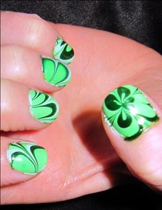 Decorate your Nails in St. Patrick's Day Style