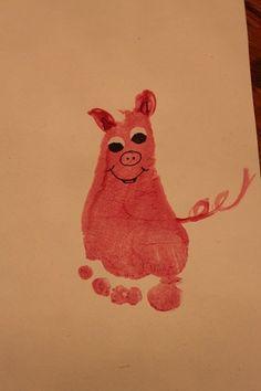 For our Nursery Rhyme unit - This Little Piggy farm animals Farm Animal Crafts, Farm Crafts, Daycare Crafts, Classroom Crafts, Farm Animals, Physics Classroom, Nursery Rhyme Crafts, Nursery Rhymes Preschool, Preschool Crafts