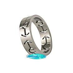 Gay Male Symbols Ring