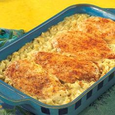 Recipe: Chicken Recipes / Baked Chicken Broccoli and Rice Recipe - tableFEAST