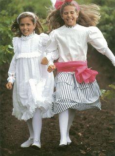 Fashion shoot 1988, Studio Bambini magazine