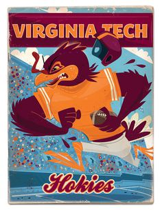"#VT #Hokies #VirginiaTech ""Virginia Tech Hokies"" https://www.behance.net/gallery/37247755/Virginia-Tech-Hokies"