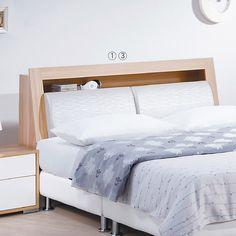 艾莎北歐5尺雙人床頭箱