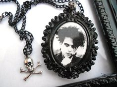 The Cure Robert Smith necklace by LEBEAUTYEXORCIST on Etsy