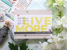 Laura Bassen | live more | SSS-August Card Kit