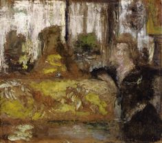 Sacha Guitry in His Dressing Room - Edouard Vuillard - WikiArt.org