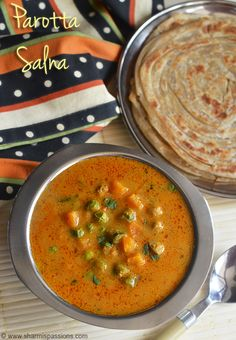 Vegetable Salna Recipe - Parotta Chalna - Sidedish for Parotta