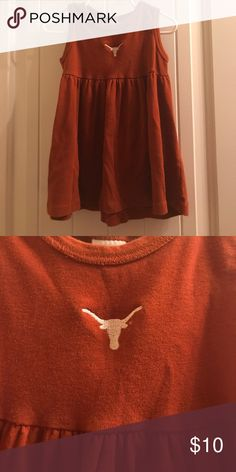 Texas longhorns dress Great condition Dresses Casual