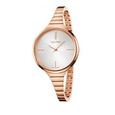 Calvin Klein K4U23626 PVD Rose Gold Bracelet Ladies Watch. Available at #Brandinia      www.Brandinia.com